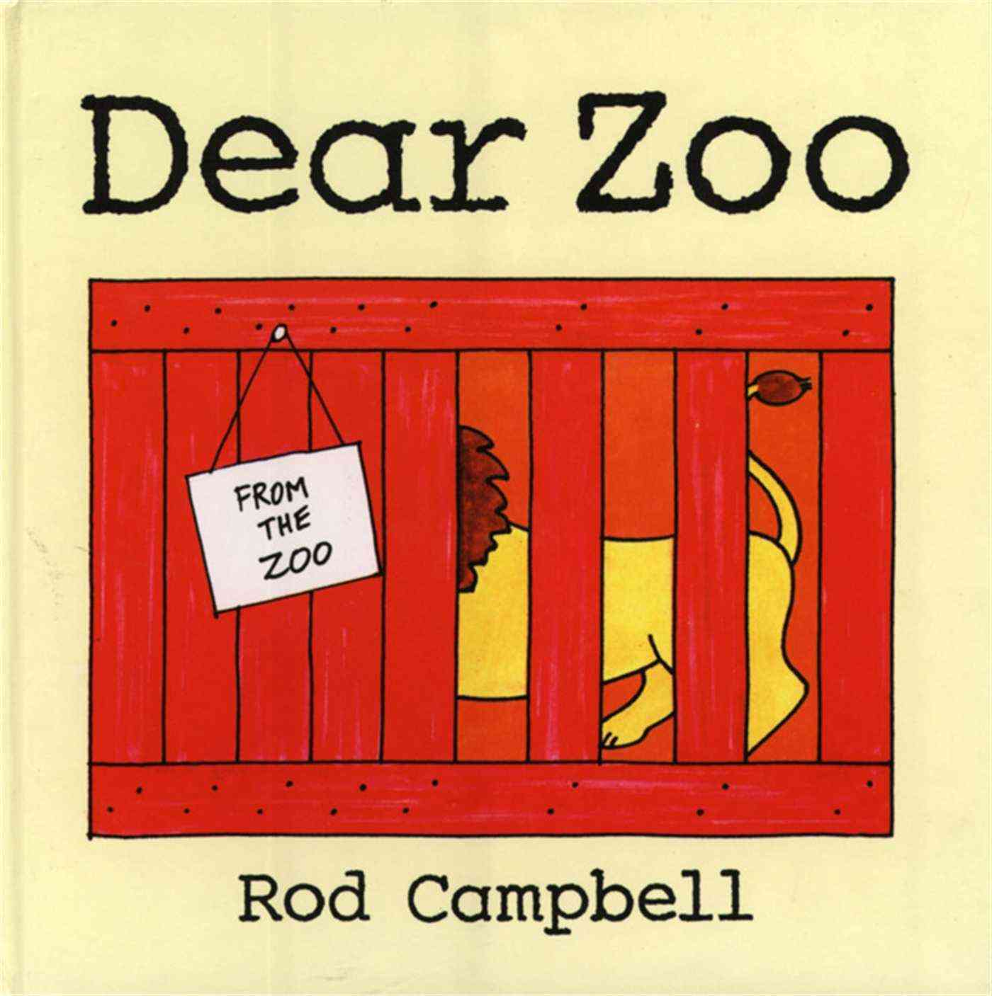 Dear Zoo By Campbell, Rod