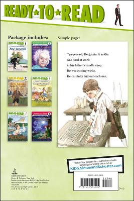 Childhood of Famous Americans Ready-to-Read Value Pack By Various/ Various (ILT)